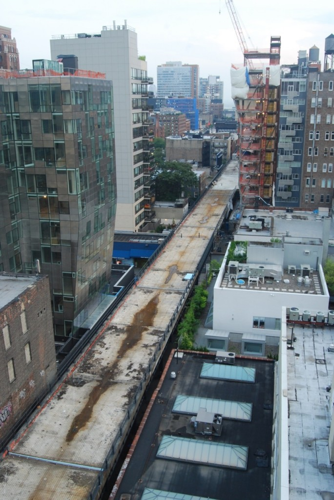 High Line Section 2 Awaits Construction - With or Without Amazon Wood?